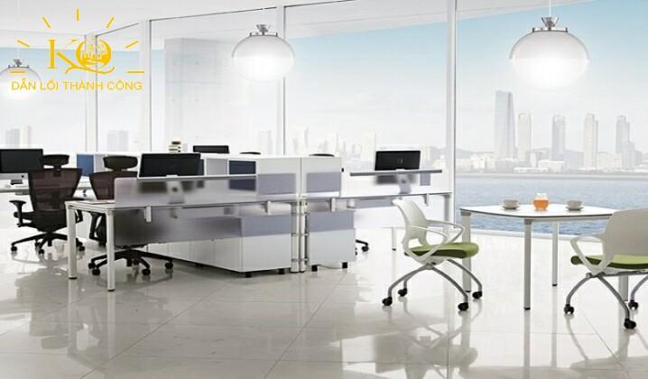 Hình chụp các văn phòng mẫu cho thuê