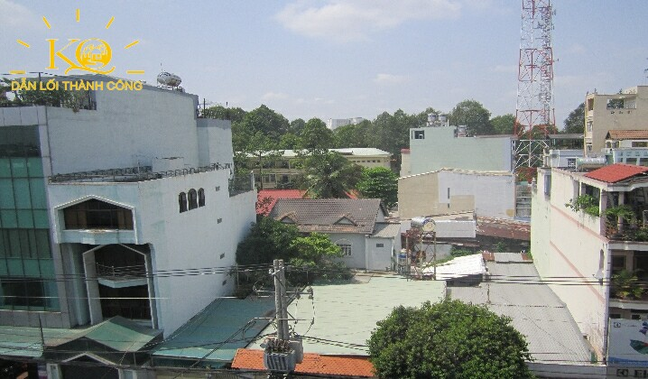 Hình chụp view từ tòa nhà